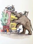 画像2: ロシア絵本・コナシェーヴィチ画「象とゾーイ」 (2)