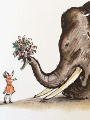 画像3: ロシア絵本・コナシェーヴィチ画「象とゾーヤ」