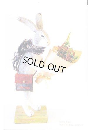 画像1: 動物ポストカード「オグロジャックウサギ」(スタジオ・アルガリ製