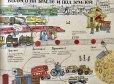 画像3: BIB金のりんご受賞画家・デスニツカヤ画「メトロ-地上と地下、乗り物の歴史」 (3)